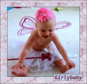 charlotte in tutu and pink headband