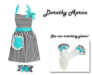 DorothyApronAqua