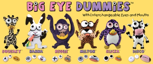 big eyed dummies logo